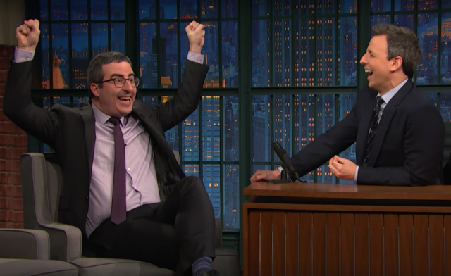John Oliver: 'The Secret' Was Real But Unfortunately It Only Worked For Trump