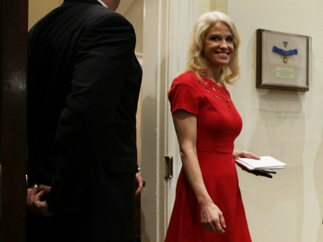 Kellyanne Conway Is Going Great Actually, Really Tremendous With The Support And America