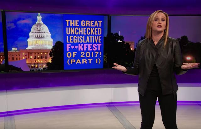 Samantha Bee Calls Paul Ryan The Taylor Swift Of Politicians