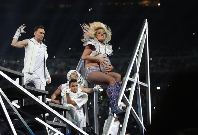 Lady Gaga Closes Super Bowl Halftime Show With Super Mic Drop