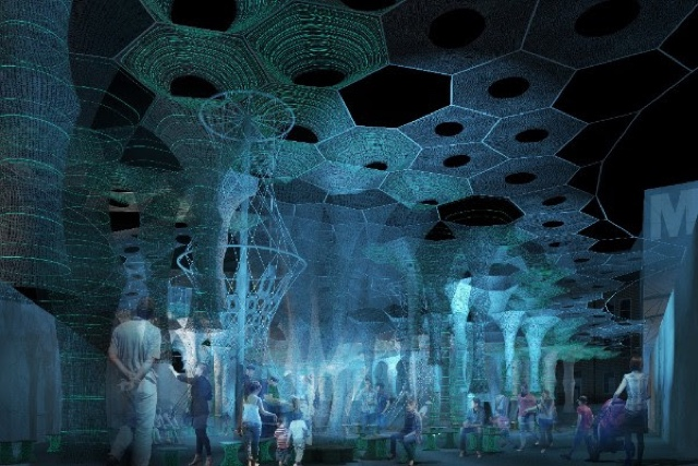 MoMA PS1 Selects 'Lumen' By Jenny Sabin Studio For 2017 Warm Up