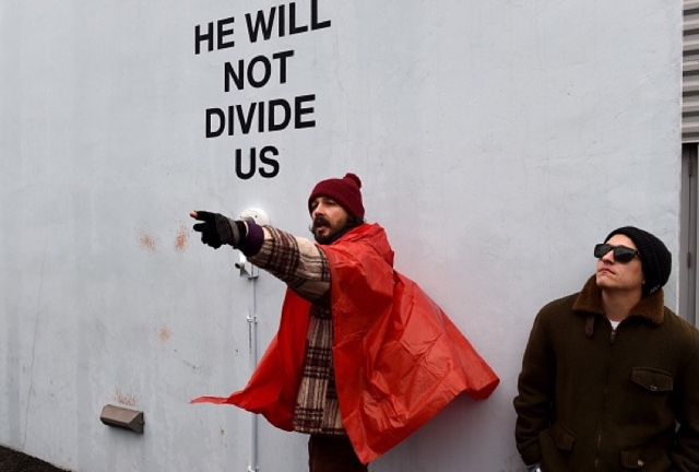 Shia LaBeouf Moves 'He Will Not Divide Us' From NYC To New Mexico