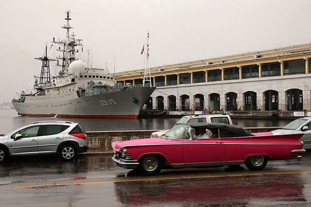 Pentagon Says Russian Spy Ship Is 'Loitering' Off Long Island, NBD