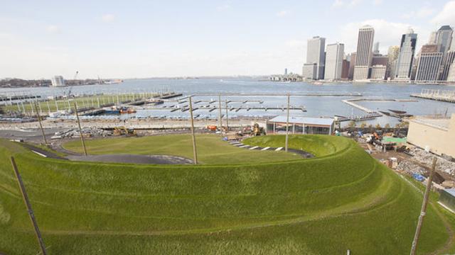 Photos: Brooklyn Bridge Park's Newest Greenspace Features 'Shaded Grove' & 'Lush Rain Garden'
