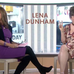 Video: Lena Dunham Broke The 'Today' Show By Using The P Word