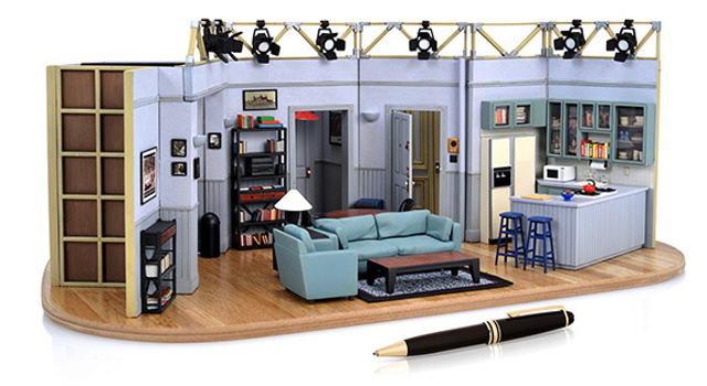You Can Buy A Tiny 'Seinfeld' Apartment For $400