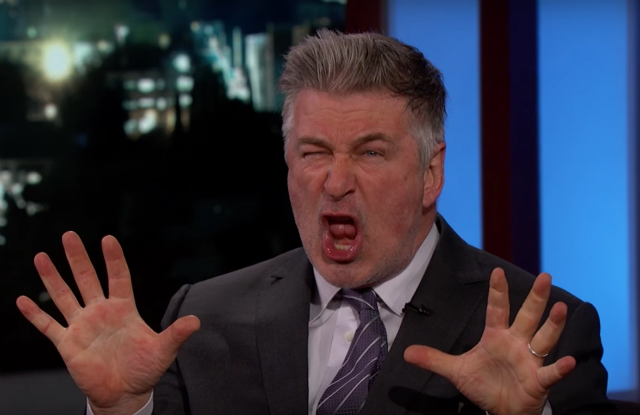 Alec Baldwin Starts Fight With Other Fake Trumps For Some Reason