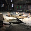 There's A Giant Hole On Montague Street Following Thursday Night Subway Flood