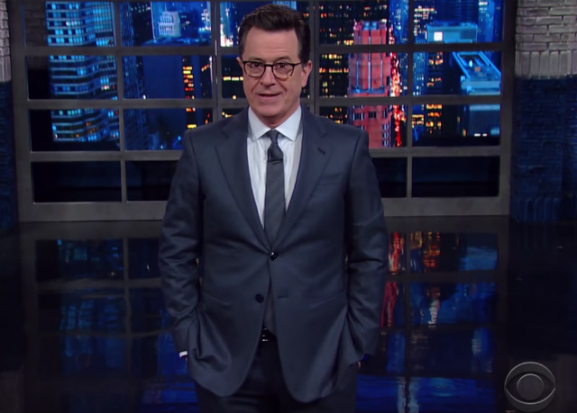 SEE IT: Very Biased Stephen Colbert Disrespects America's 45th President AGAIN