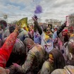Photos: Colors Fly At Joyous Queens Holi Festival