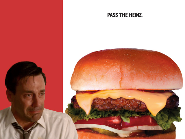 Don Draper's Rejected 'Pass The Heinz' Pitch Is Now A Real Ad Campaign