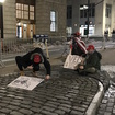 Men In MAGA Hats Transform 'Fearless Girl' Statue Into Trump Supporter