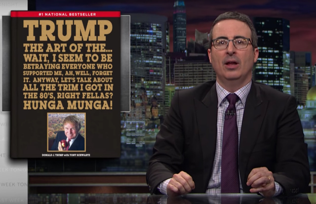 Video: John Oliver Translates Trump's 'Toddler Psychopath' Budget Language
