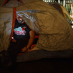 Photos: Activists Form Temporary Tent City In The Financial District To Support Global Refugees