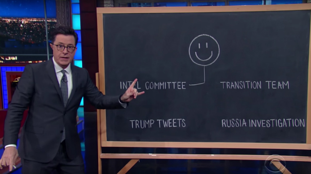 Meyers & Colbert Finds The Dude In Donald Trump