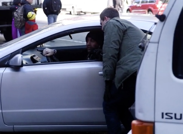 Watch This Fed-Up Pedestrian Confront Lousy NYC Drivers