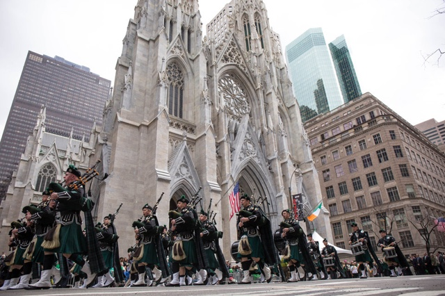 Here Are The St. Patrick's Day Parade Street Closures Today
