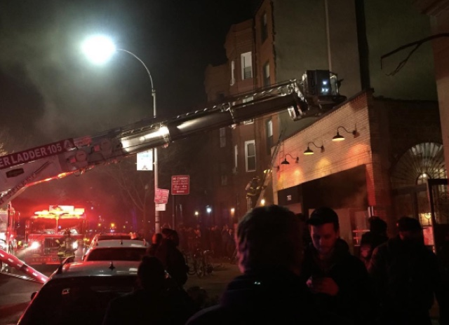 Union Hall Closed Indefinitely After Friday Night Fire