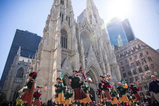 Photos: The Big, Boisterous St. Patrick's Day Parade Takes Over Midtown
