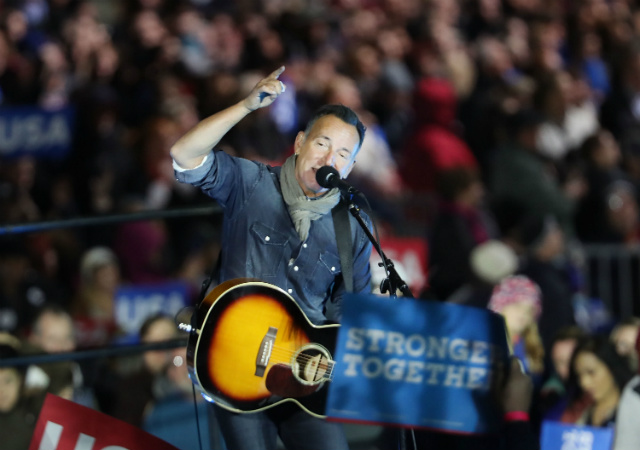 Bruce Springsteen Releases Anti-Trump Protest Song With Joe Grushecky