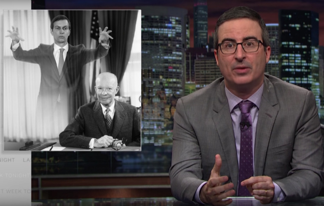 Video: John Oliver Does Deep Dive Into Ivanka Trump & Jared Kushner