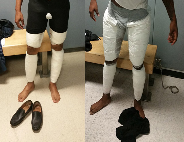 Coke Legs Again: Two Men Arrested At JFK For Taping $380K In Cocaine Around Their Legs