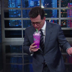 Watch Stephen Colbert Taste The Unicorn Frappuccino, 'A Sugary Affront To God'