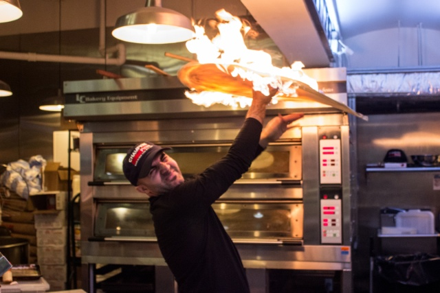 You Can Now Get Flaming Pizza In A Subway Station, Among Other Things
