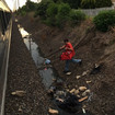 Heroic Pizza Deliveryman Brings Dinner To Hangry Passengers On Stalled Amtrak Train