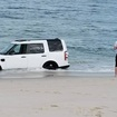 A Man Parked His SUV On A NJ Beach For A Photo, So The Beach Tried To Eat It