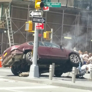 UPDATES: One Dead, Multiple Injured After Times Square Driver Plows Through Pedestrians