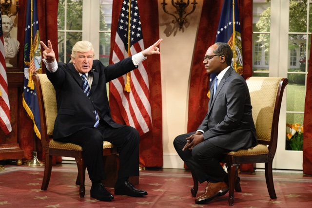 SNL Cold Open: Alec Baldwin's Trump Says He's A 'Serial Tape-ist'