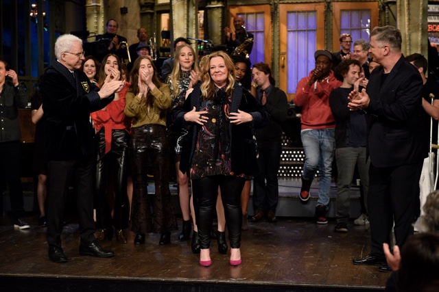 Videos: Melissa McCarthy Finally Joins SNL's Five-Timers Club