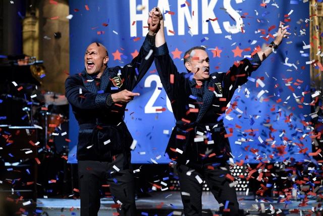 SNL Videos: Dwayne 'The Rock' Johnson Announces 2020 White House Run With Running Mate Tom Hanks