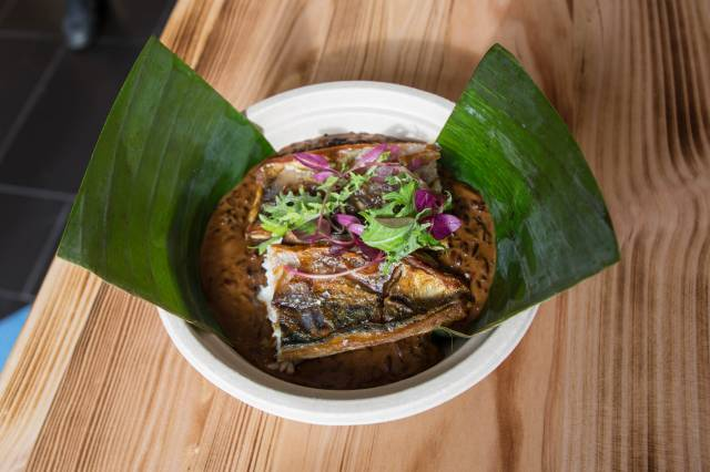 Get The Mackerel Over Cocoa Rice At Bed-Stuy's New Tamá