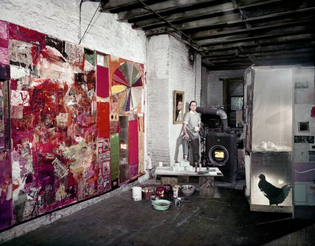 Inside MoMA's Major Retrospective Of Robert Rauschenberg's Work