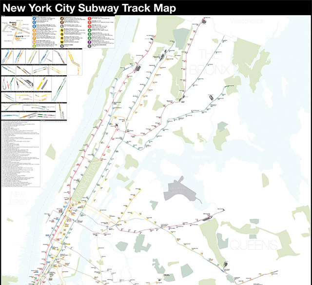 Brooklyn Man Creates 'Complete & Geographically Accurate' NYC Subway Map