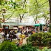 Midtown Pocket Park Hosts Pop-Up Food Market For Autumn