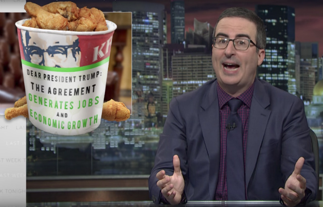 Video: John Oliver Explains Why Trump Is Wrong On Climate Change Agreement