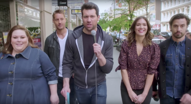 Video: Billy Eichner Roams NYC With Cast Of 'This Is Us'