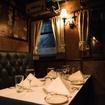 Eat Surf & Turf Inside The McKittrick Hotel's Cute Club Car Restaurant