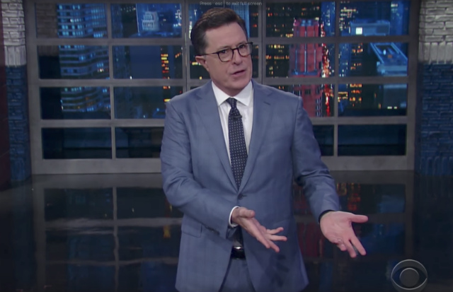 Video: Stephen Colbert Shows What Happens When You Miss A Week Of Trump News