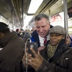 De Blasio: I'll Stand Up For Straphangers, Having Been One In the '90s