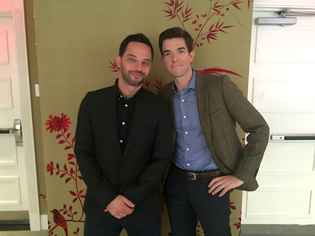 Interview: Nick Kroll & John Mulaney Talk Tuna Allergies, Getting Pranked & 'Oh, Hello' On Netflix