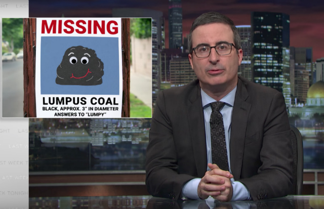 Video: John Oliver Says Trump 'Needs To Stop Lying To Coal Miners'