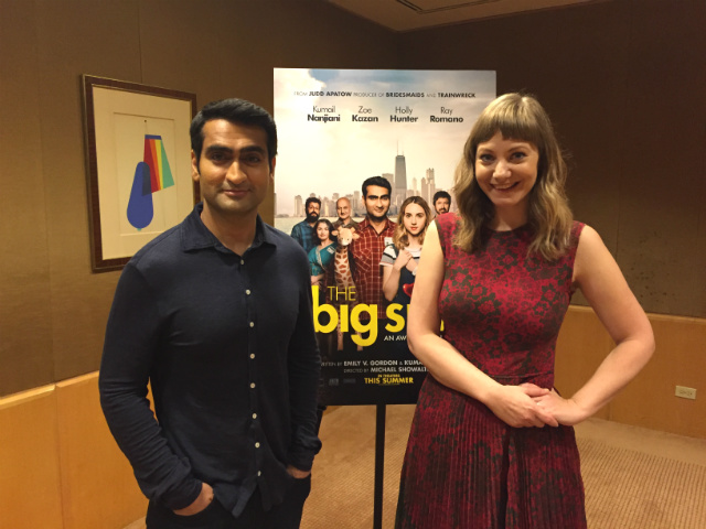 A Charming Conversation With Kumail Nanjiani & Emily V. Gordon About Their Charming Movie 'The Big Sick'