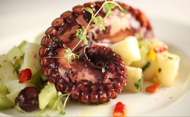 East Village's Tableside Italian Cook Shoppe Serves A Standout Piece Of Octopus