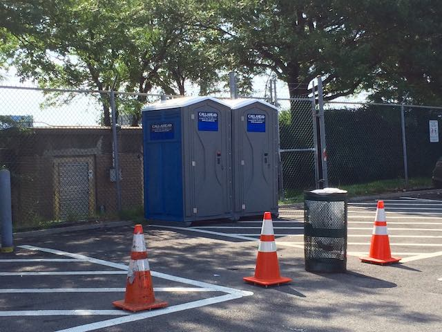 Rideshare Drivers Score Sweet Relief In Form Of Porta-Potties For JFK Parking Lot