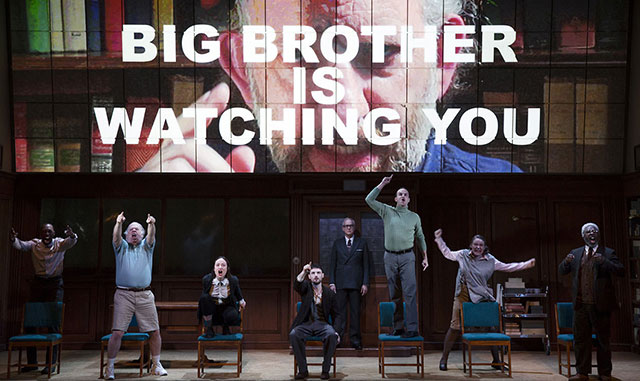 '1984' On Broadway Now Has An Age Restriction Because People Are Reportedly Fainting