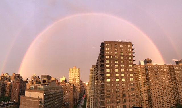 Photos: Double Rainbow Over NYC After Drenching Thunderstorm